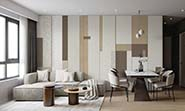 «Texture beige-brown» wall mural | Modern Premium Design in interior
