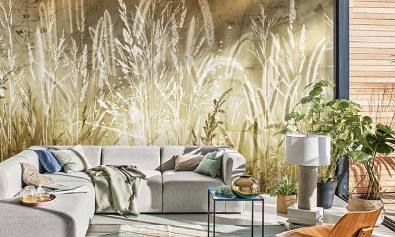 «Rays of the Sun» wall mural | Modern Premium Design