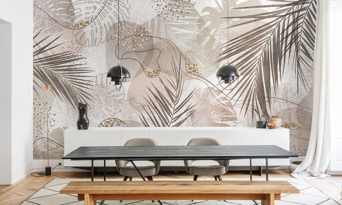 «Tropical fantasy» wall mural | Modern Premium Design